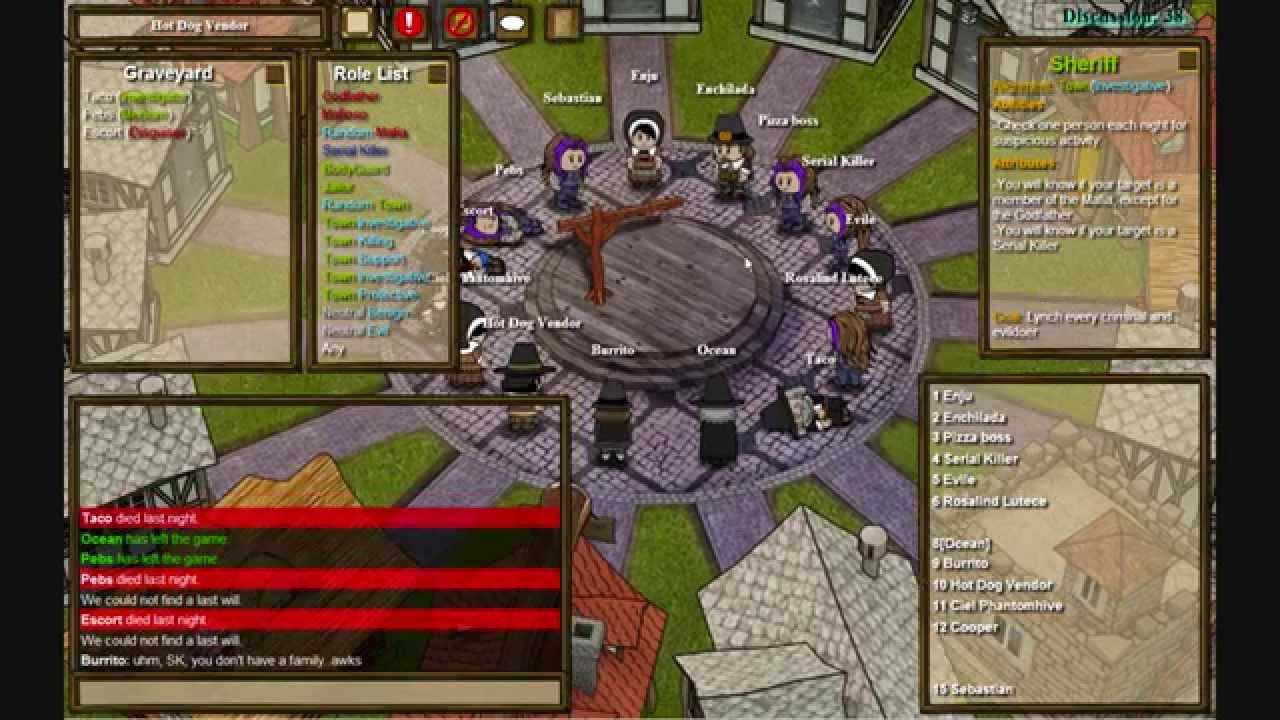town of salem sheriff guide