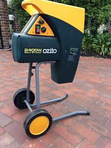 ozito 2400w silent electric shredder manual