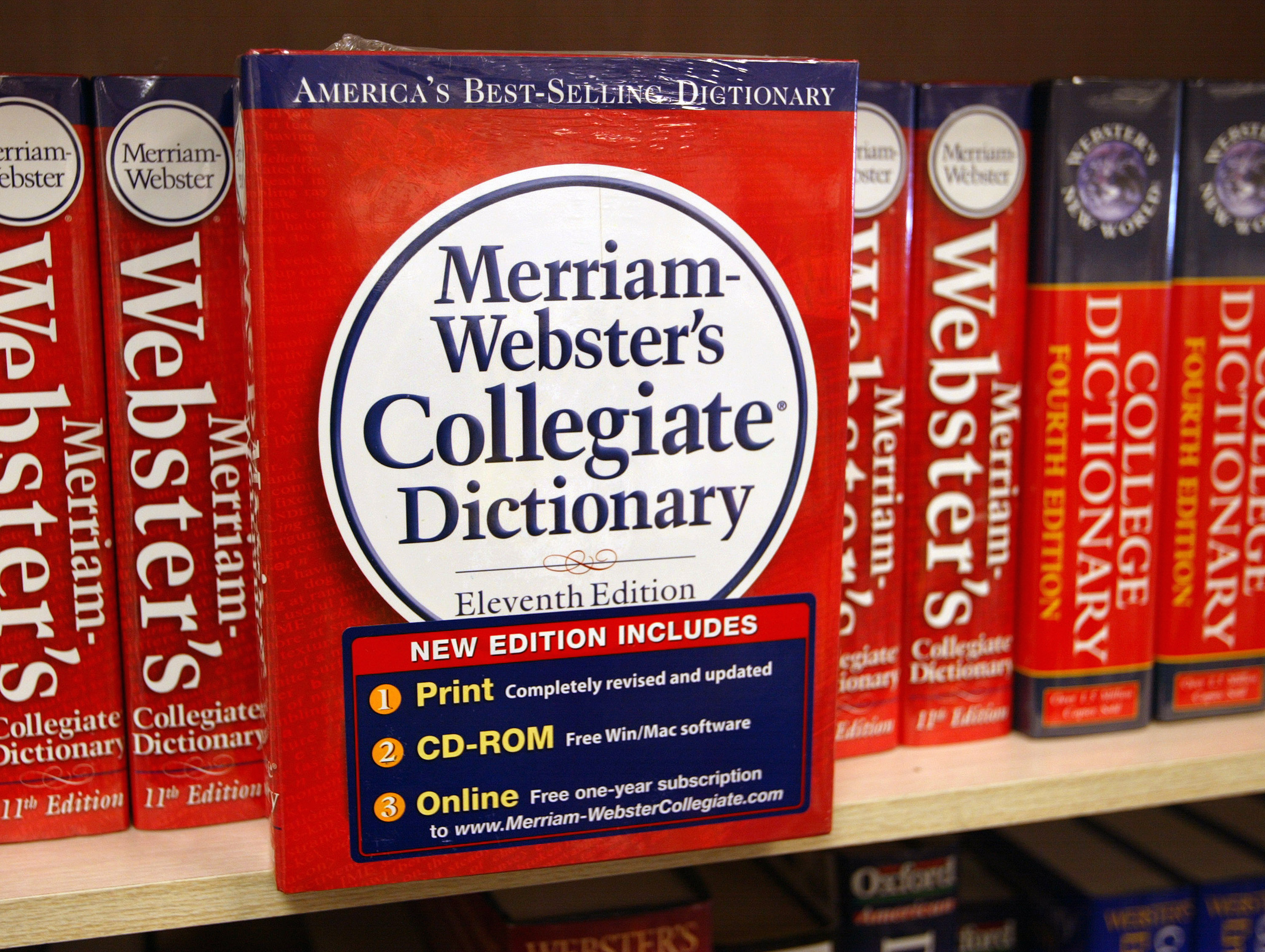 oxford dictionary vs webster dictionary