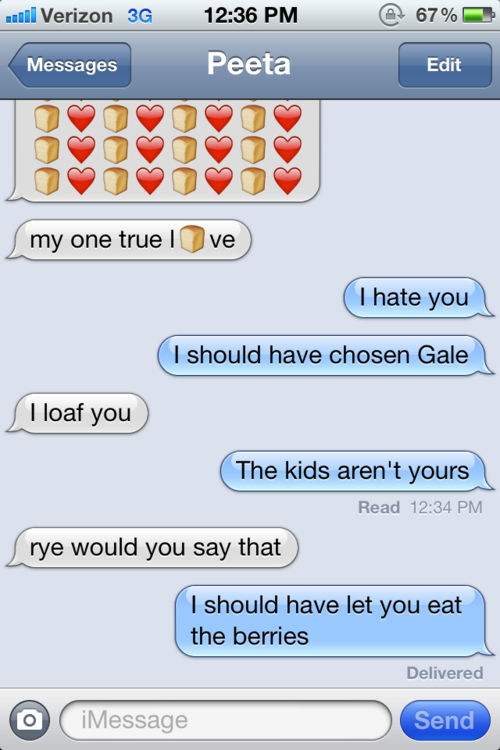 sample text from the hunger games