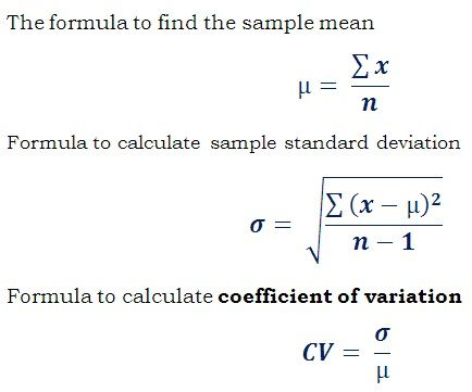 standard deviation of the sample mean calculator
