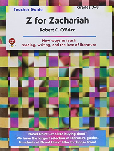 z for zachariah book pdf