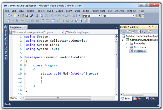 payroll system c with console application and a class