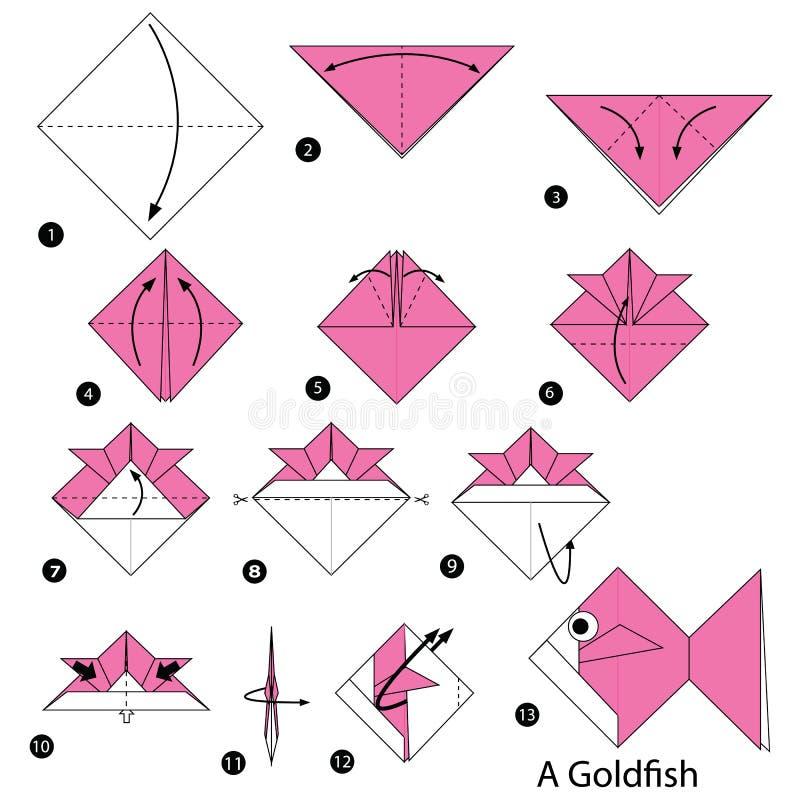 origami goldfish instructions