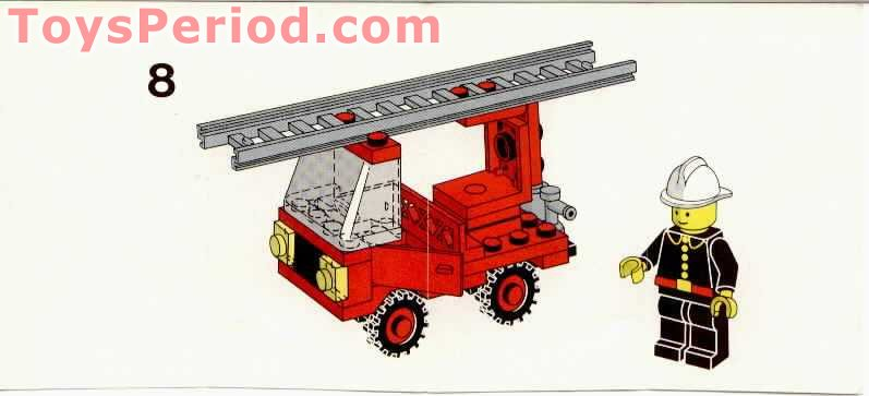 small fire car lego instructions