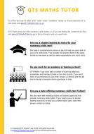numeracy skills test practice pdf