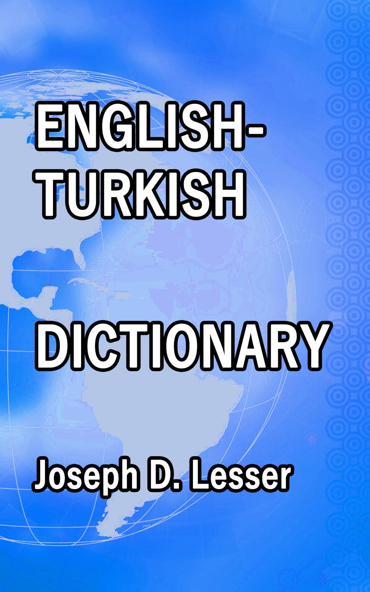 turkish to english dictionary pdf