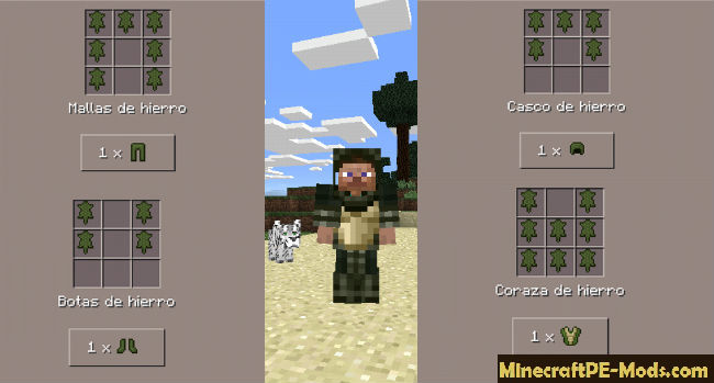 minecraft pe crafting guide