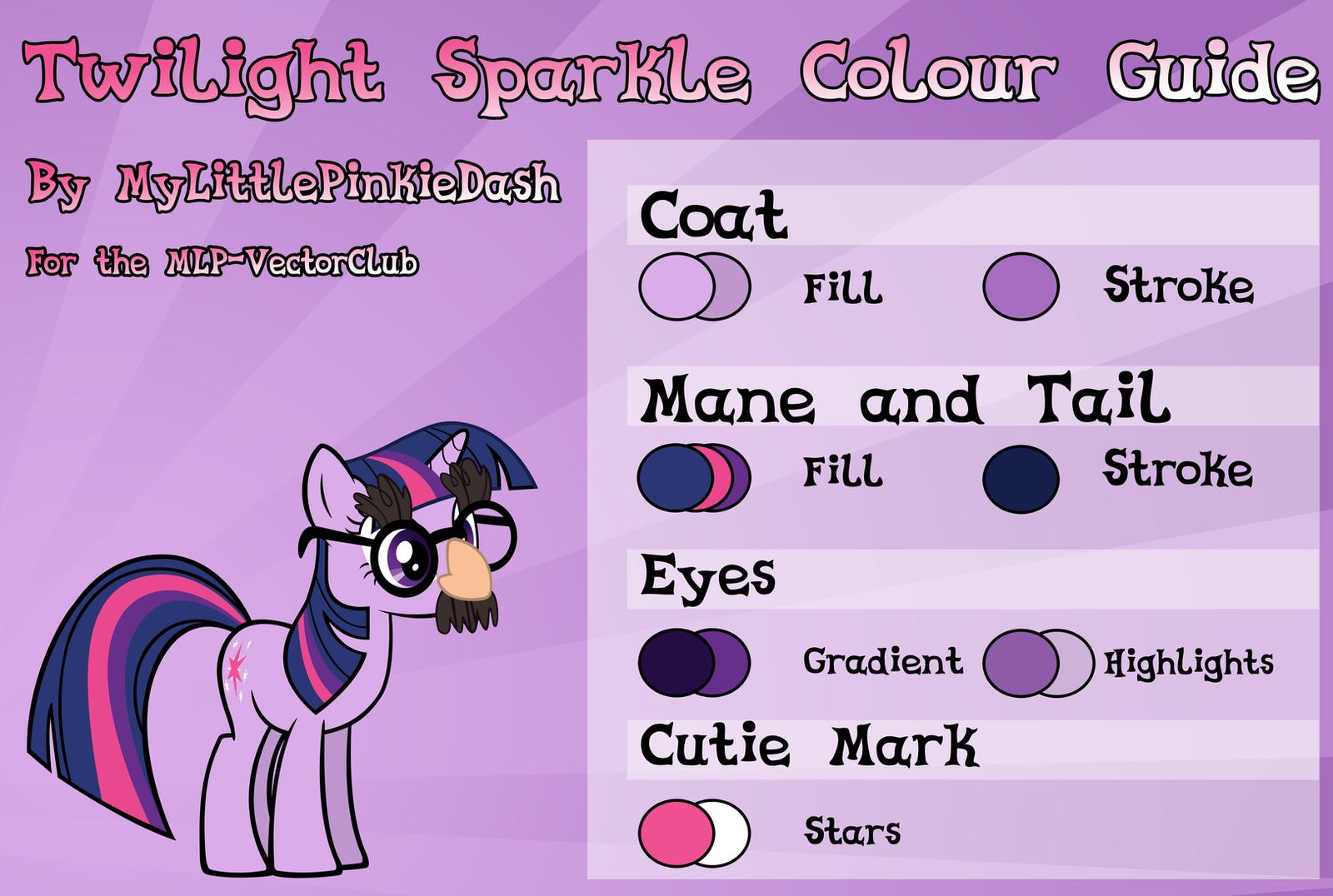 mlp colour guide