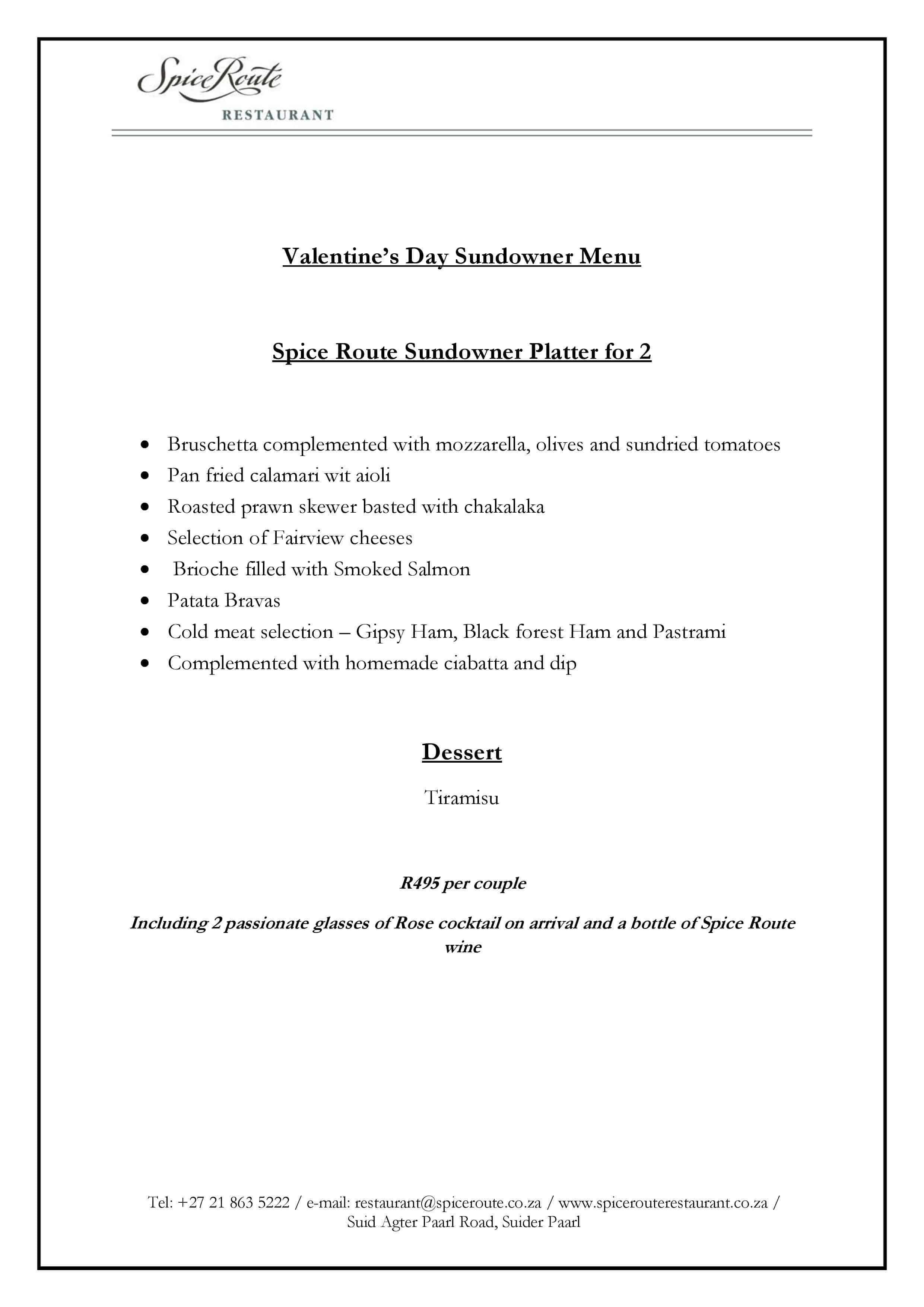 menu for great spice pdf