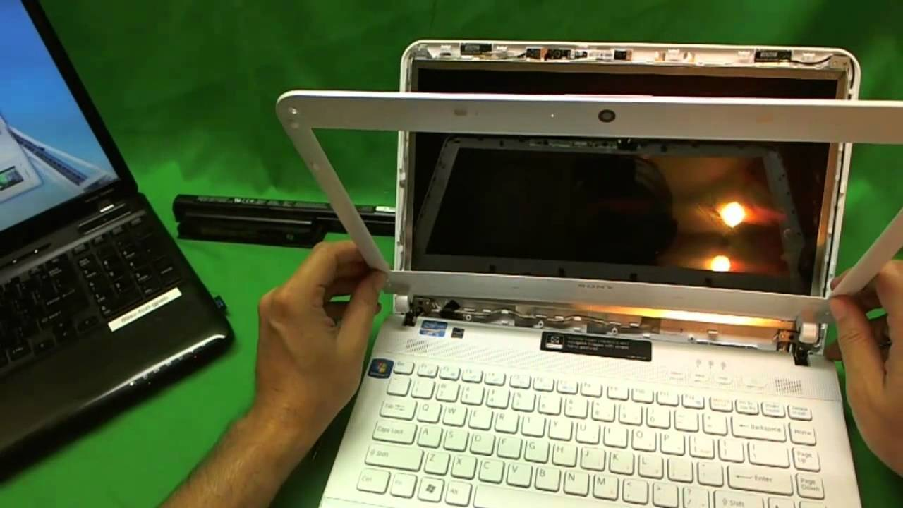 sony vaio screen replacement instructions