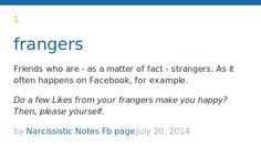 stranger dictionary meanings