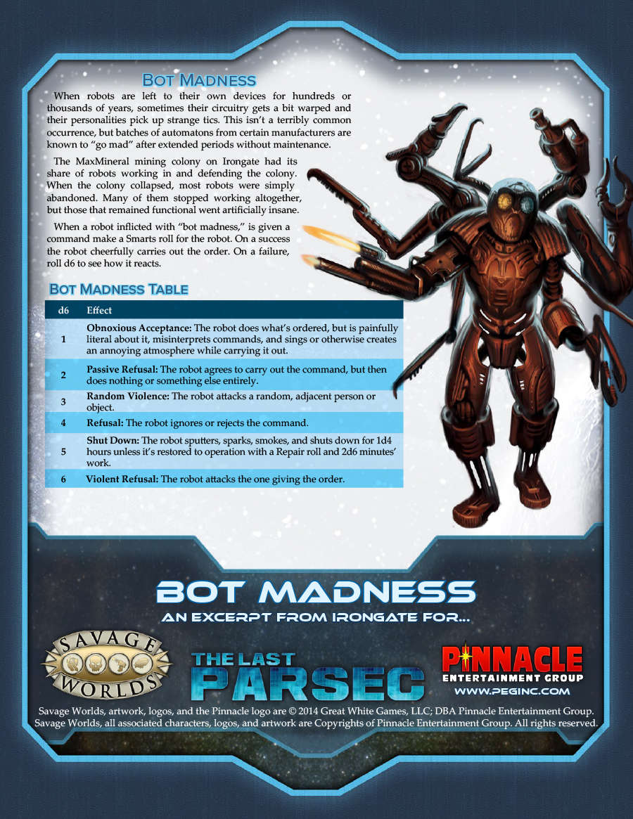 savage worlds science fiction companion pdf