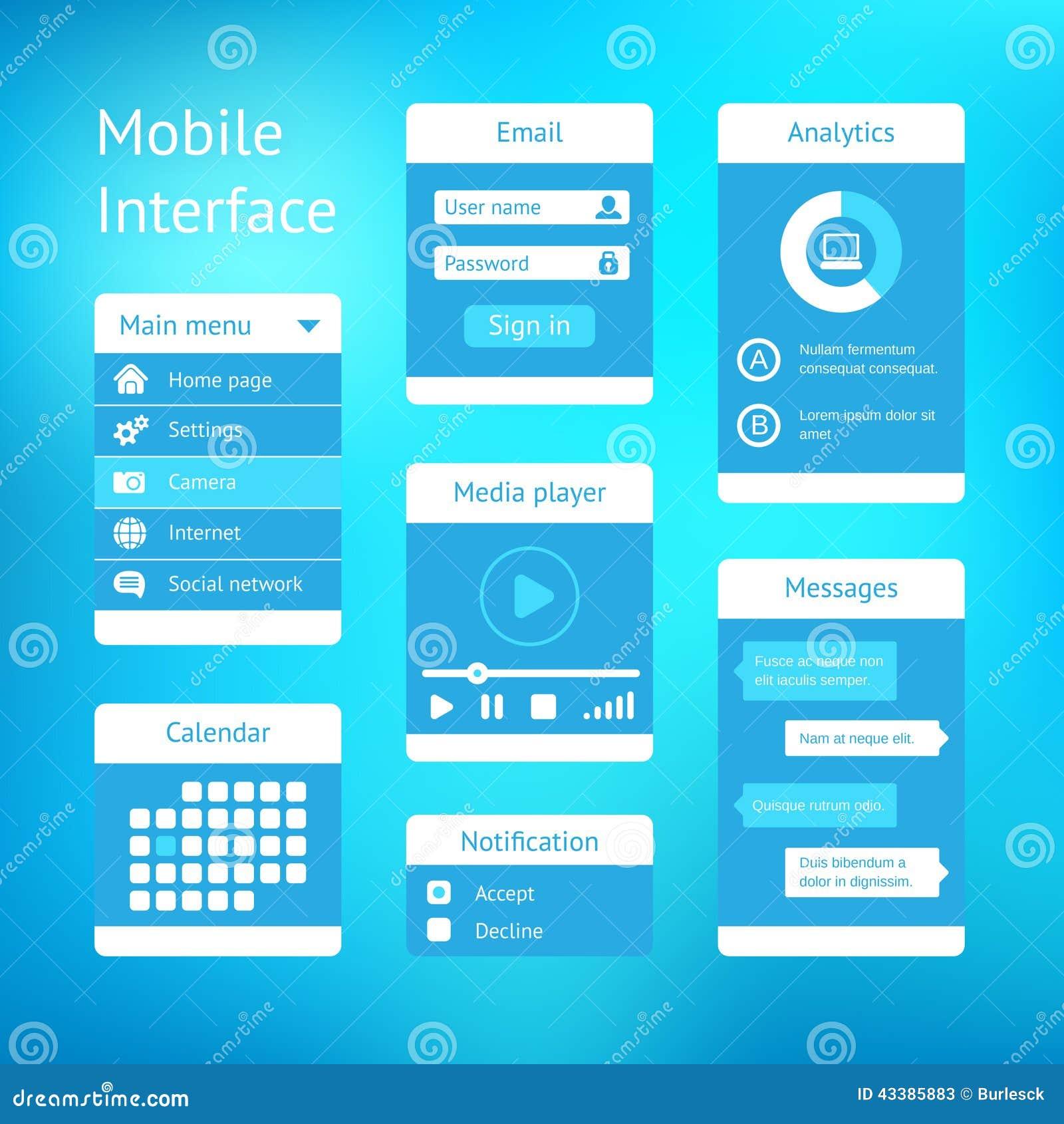 user manual sample for mobile application