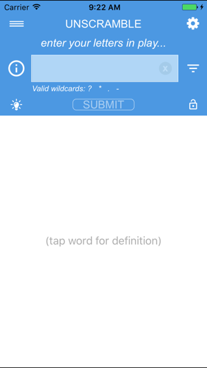 your dictionary word unscramble