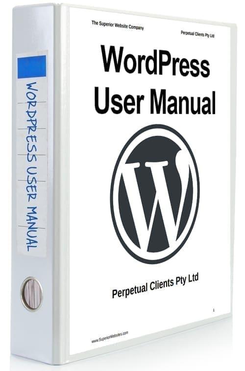 wordpress instruction manual