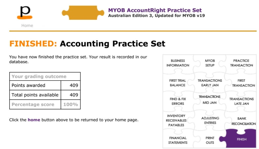 perdisco manual accounting practice set answers