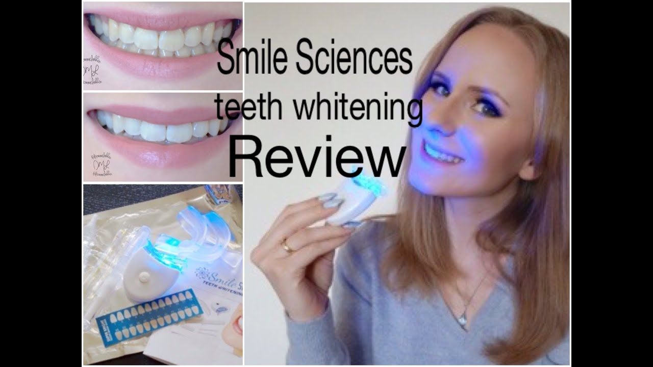 smile sciences teeth whitening kit instructions