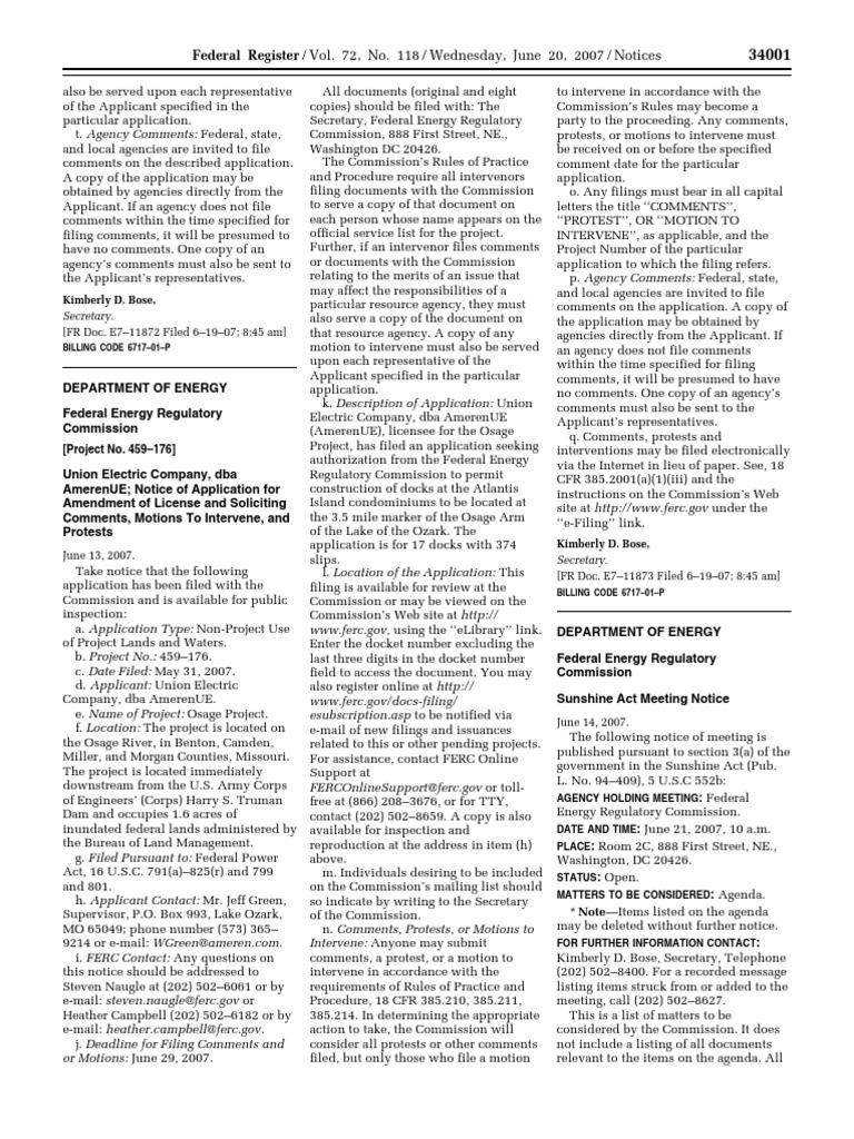 sunshine act pdf