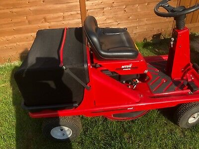 mtd pinto ride on mower manual
