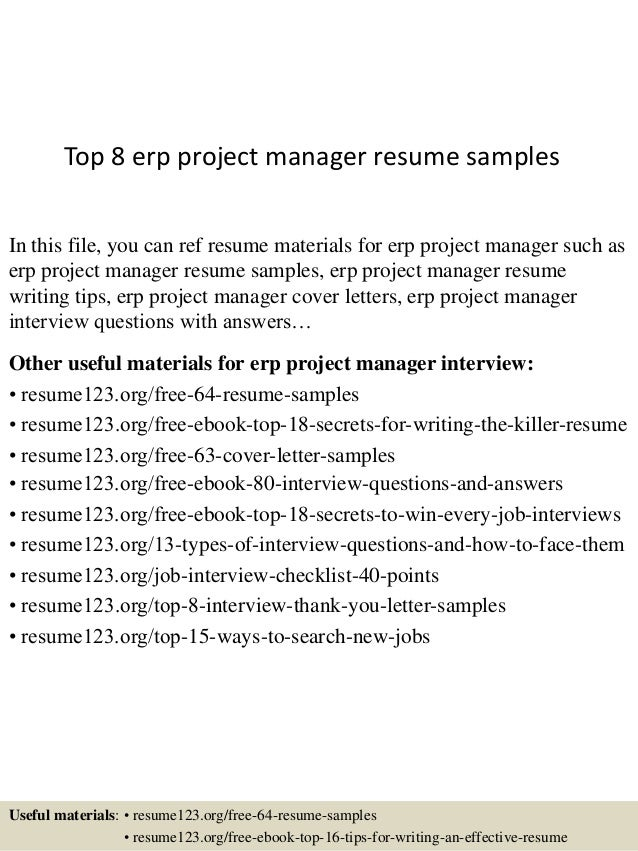 project manager sample cv new zealand