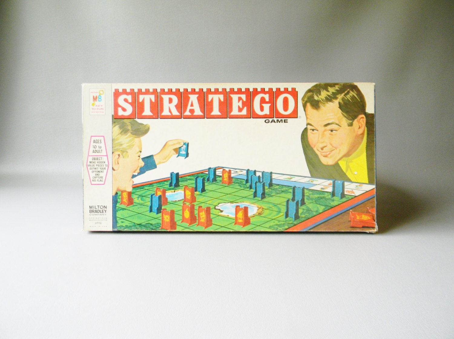 stratego board game instructions