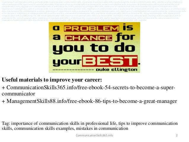professional skills pdf
