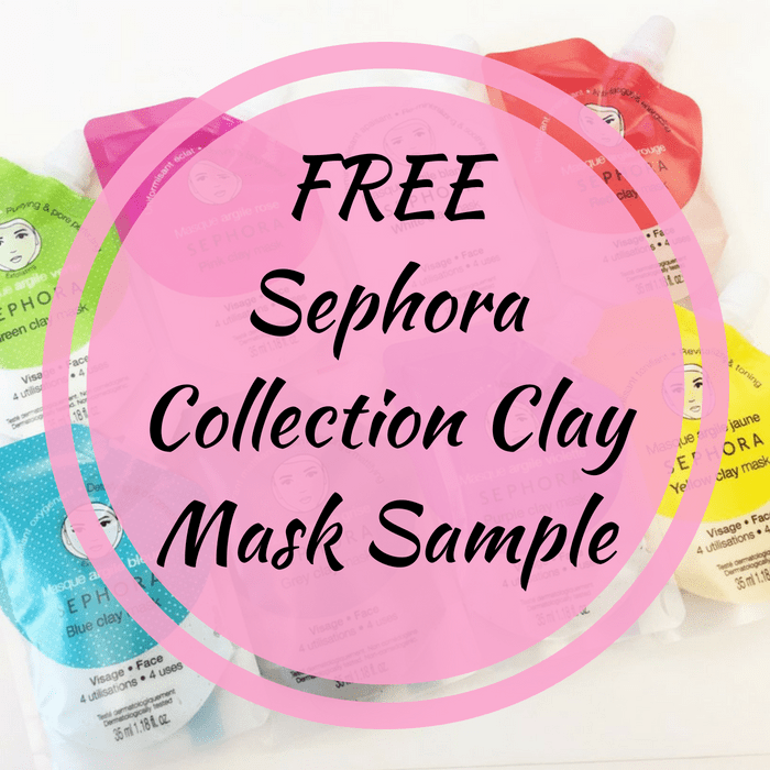 sephora clay mask sample
