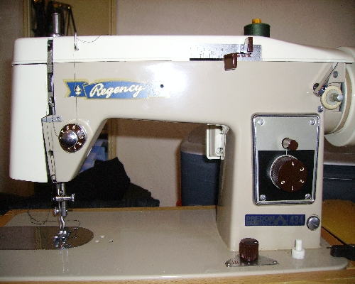 regency deluxe sewing machine manual