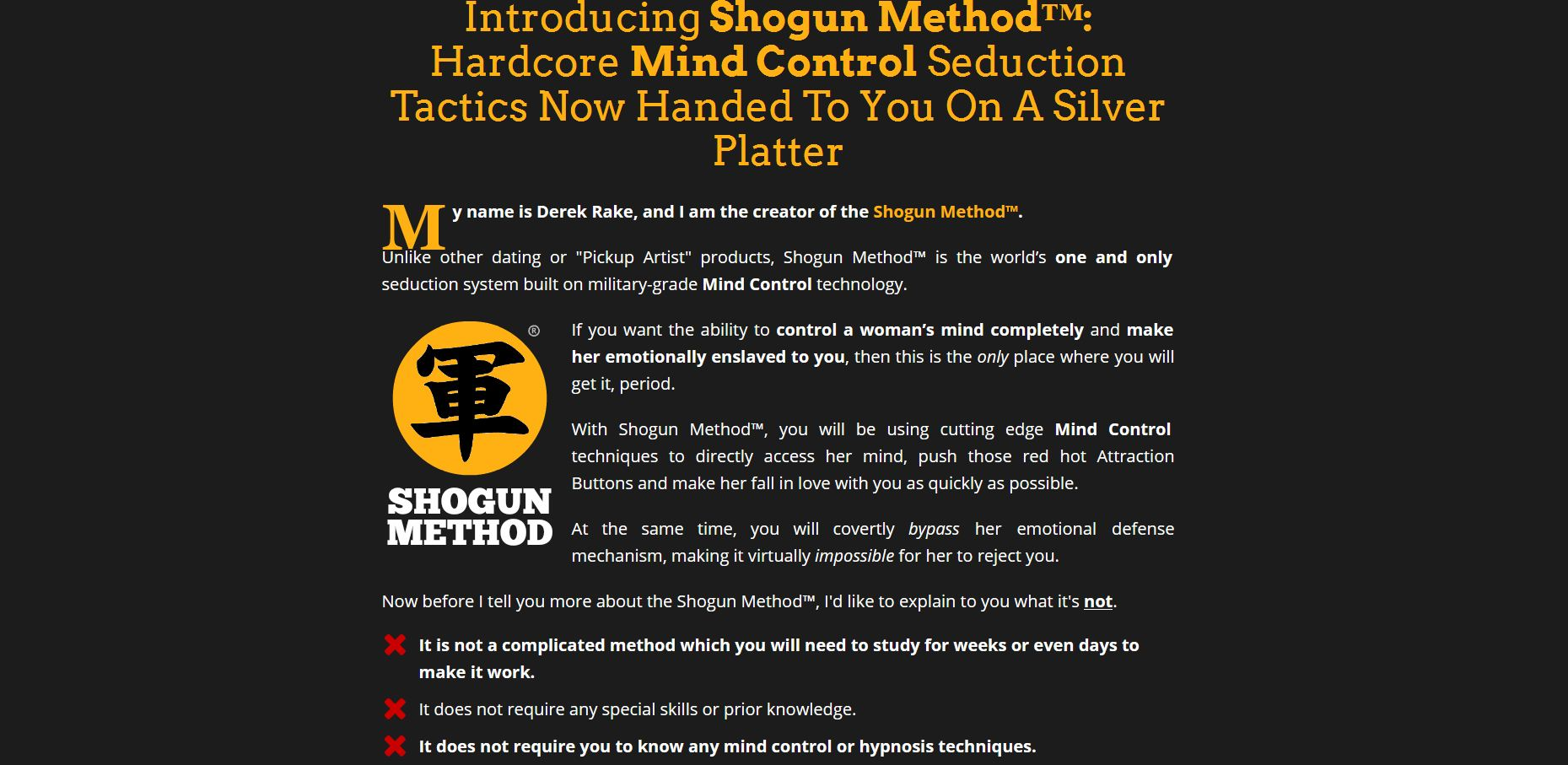 shogun method free pdf download