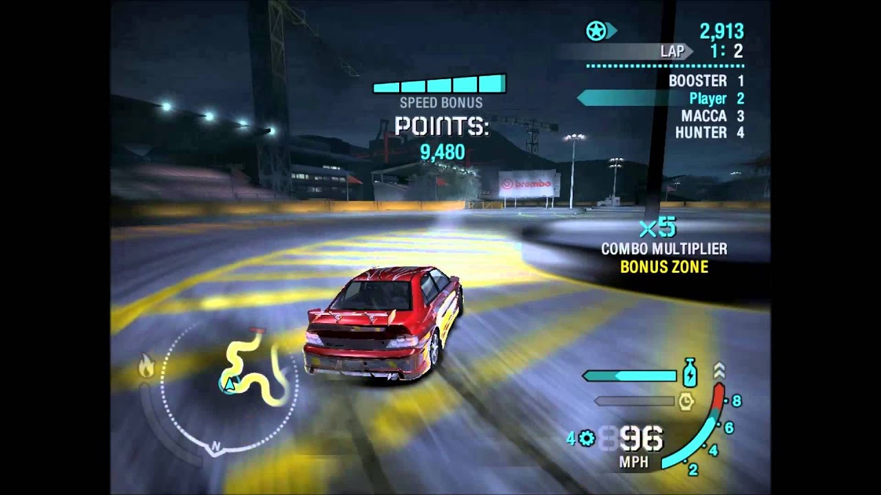 need for speed carbon guide