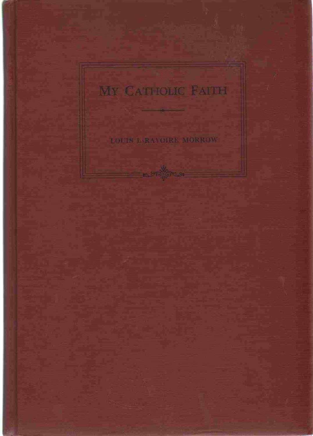 my catholic faith a manual of religion pdf