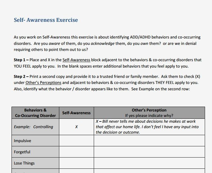 self awareness essay pdf