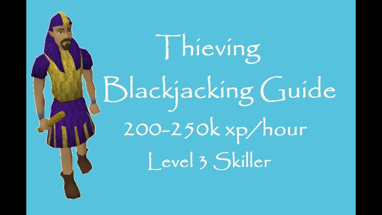 osrs thieving guide 2018