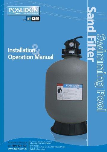 s5000 mk2 filter manual