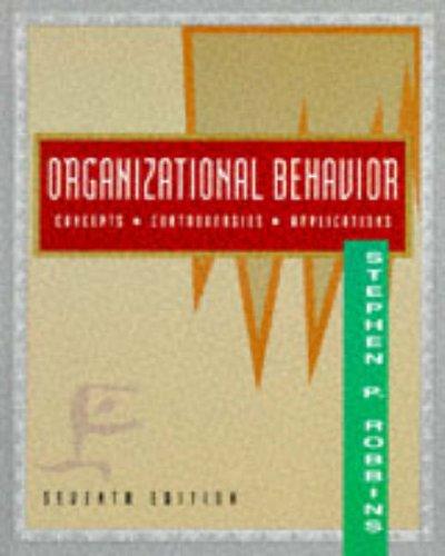 organisational behaviour 8th edition robbins pdf