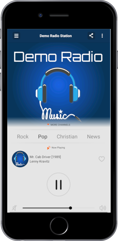 radio application