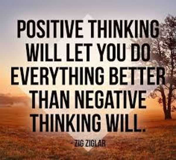 positive thinking articles pdf