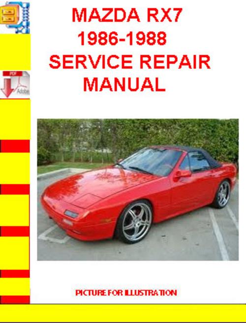 rx7 workshop manual