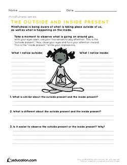 mindfulness lesson plan pdf