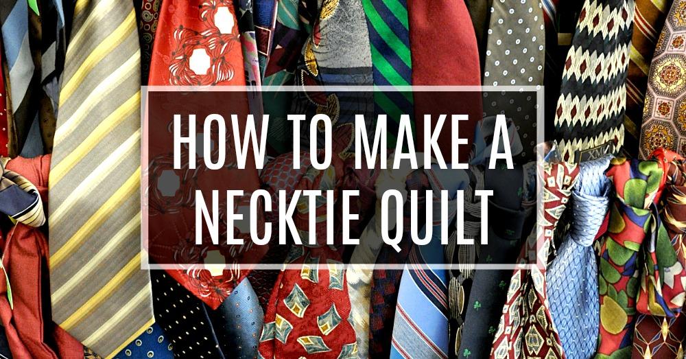 necktie pattern instructions