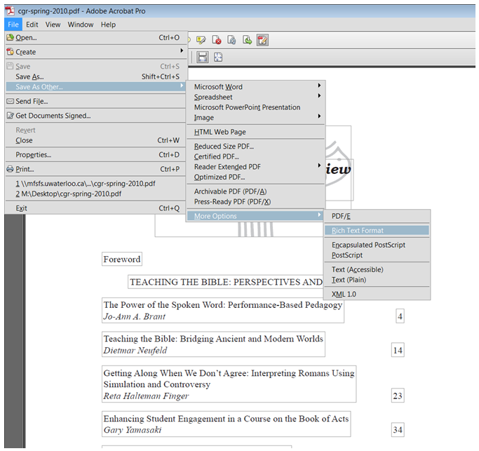 save text as pdf online