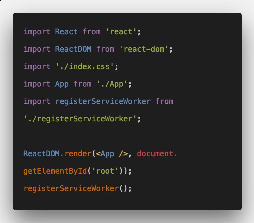 react web application tutorial