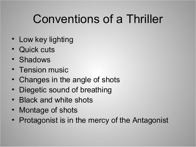 thriller definition dictionary