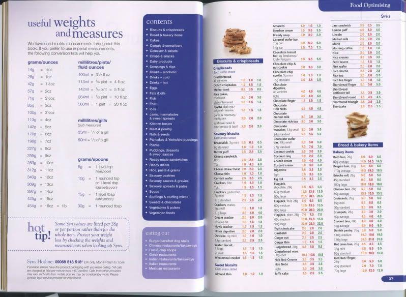 slimming world food optimising book 2019 pdf