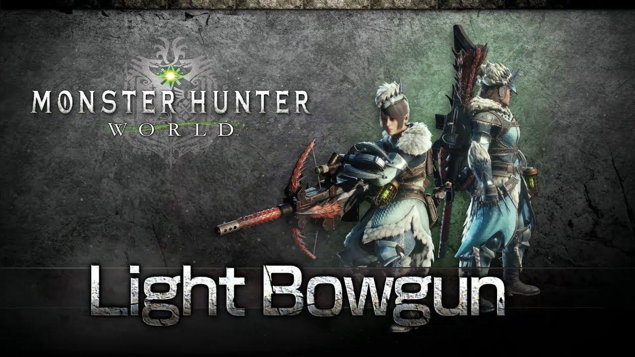 monster hunter world heavy bowgun guide