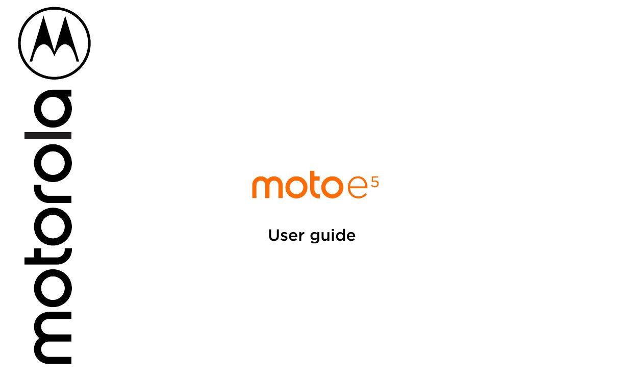 moto e5 phone user manual