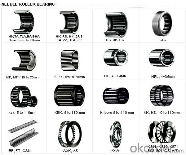 needle bearing size chart pdf