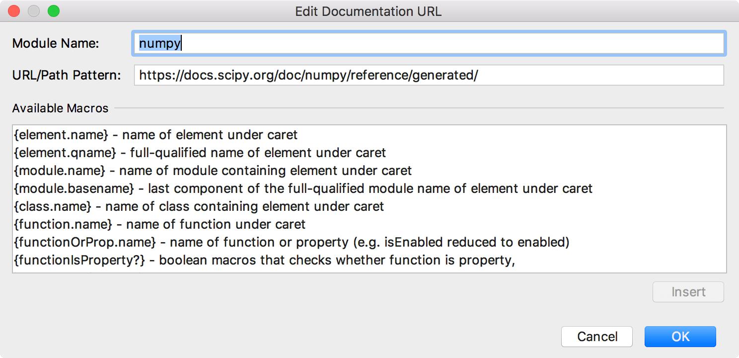 numpy documentation
