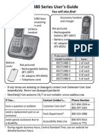 operators manual for uniden dect 6.0 phone
